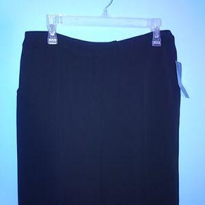 Harve Benard Essential Black Pants NWT Sz 6